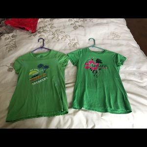 Old Navy T-Shirts Size Small and XS.